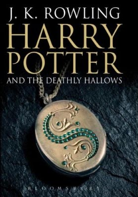 Harry Potter and the Deathly Hallows, British book cover, photograph by Michael Wildsmith
