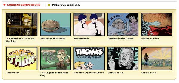 thumbnails of all nominees