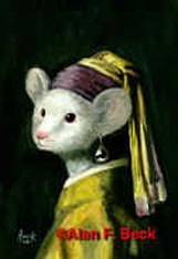 Image of Mouse with Pearl Earring