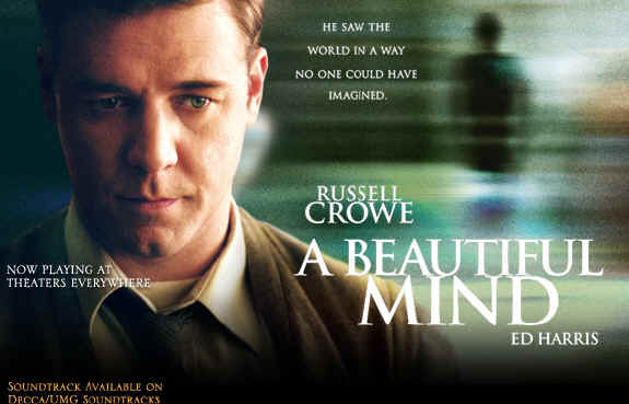 of TCM's tribute to chemistry and physics in film, A BEAUTIFUL MIND
